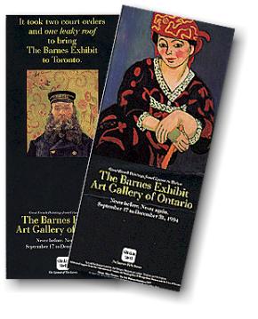 Barnes Exhibition at the Art Galley of Ontario.